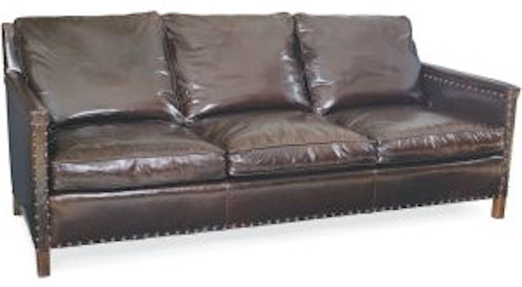 Lee Industries Living Room Leather Sofa L1935-03 - Alyson ...
