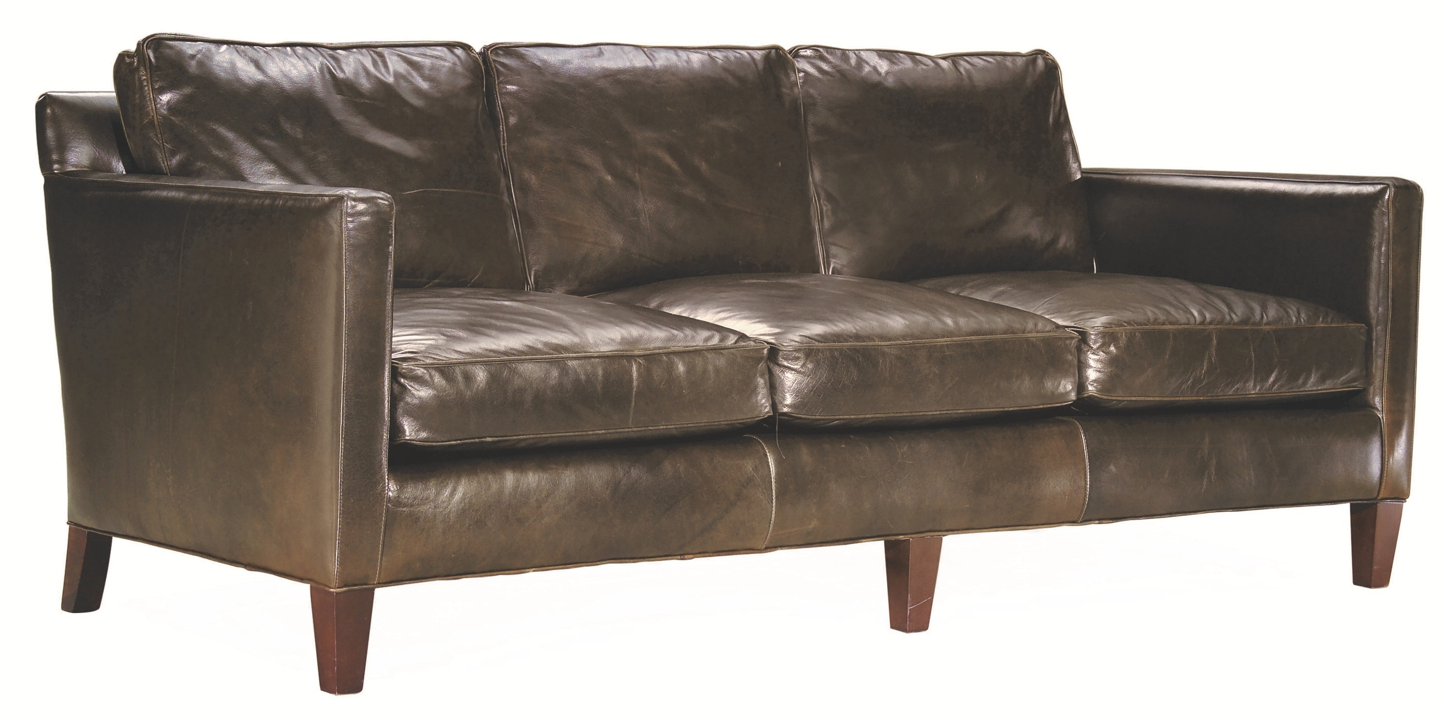 Lee Industries Leather Sofa L3068 03