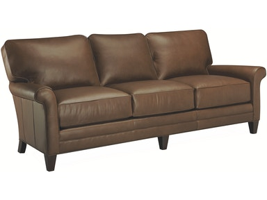 Lee Industries Living Room Leather Sofa L3193 03 Tin