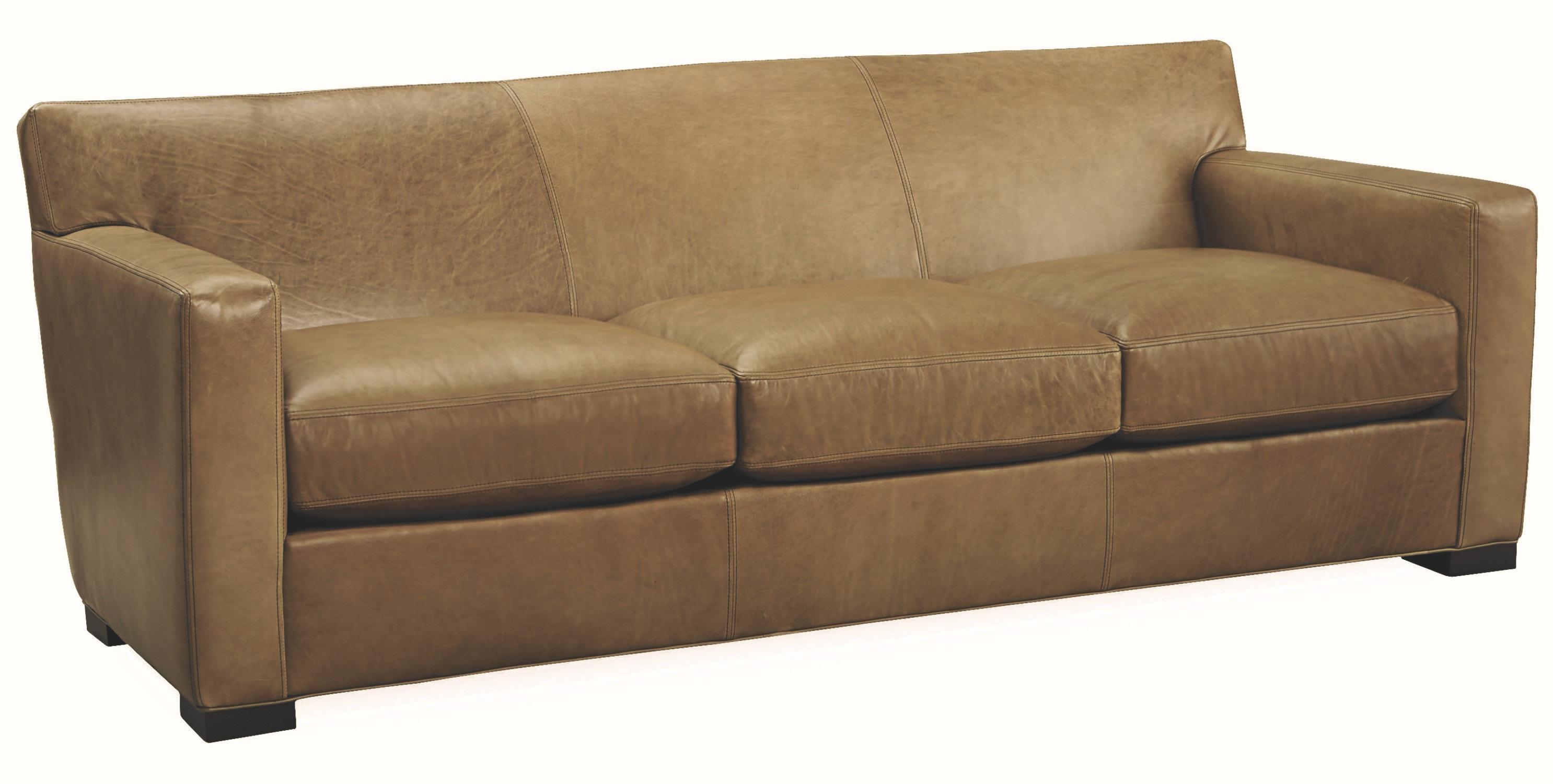 Genial Lee Industries Leather Sofa L3232 03