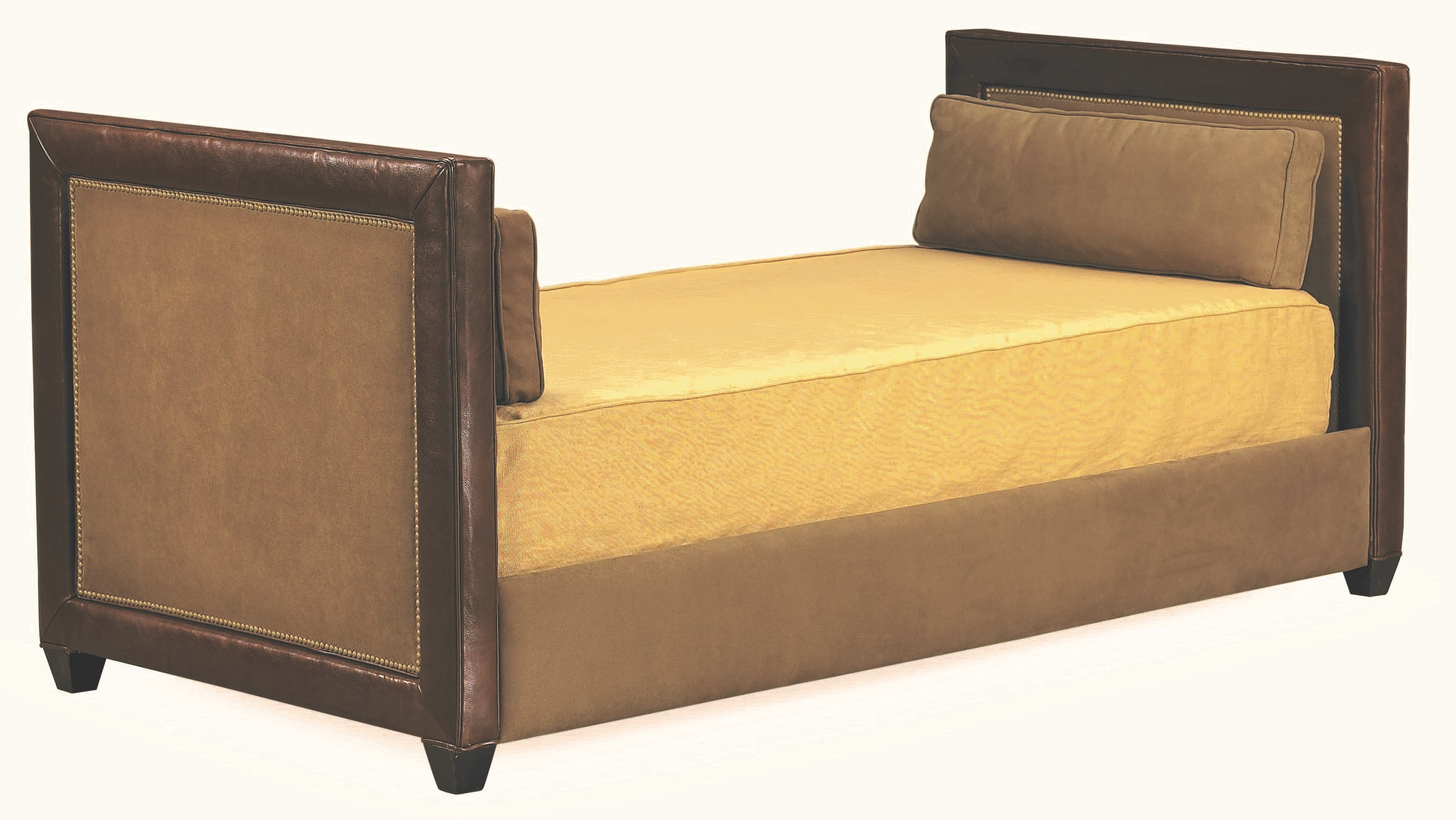 Delightful Lee Industries Bedroom Leather Twin Day Bed L34 30DB At Eastern Furniture