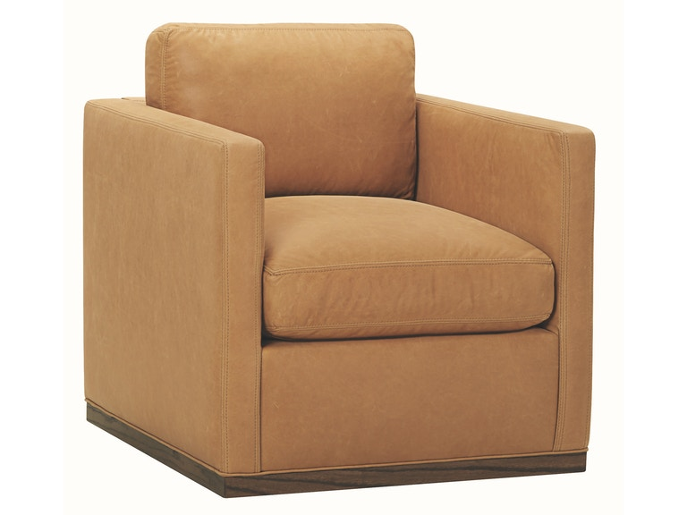 Lee Industries Living Room Leather Swivel Chair L3583-01SW ...
