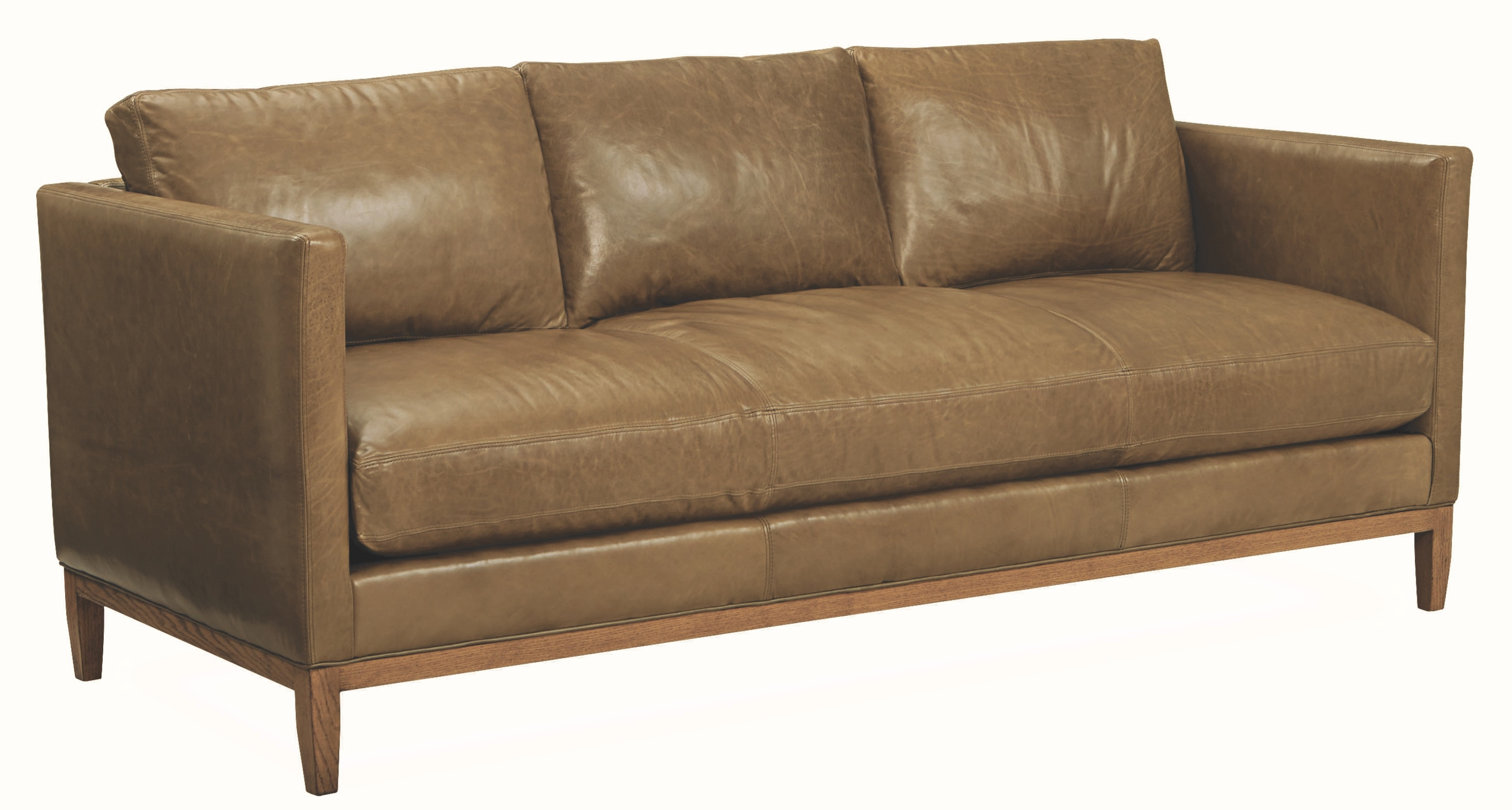 Lee Industries Leather Sofa L3583 03