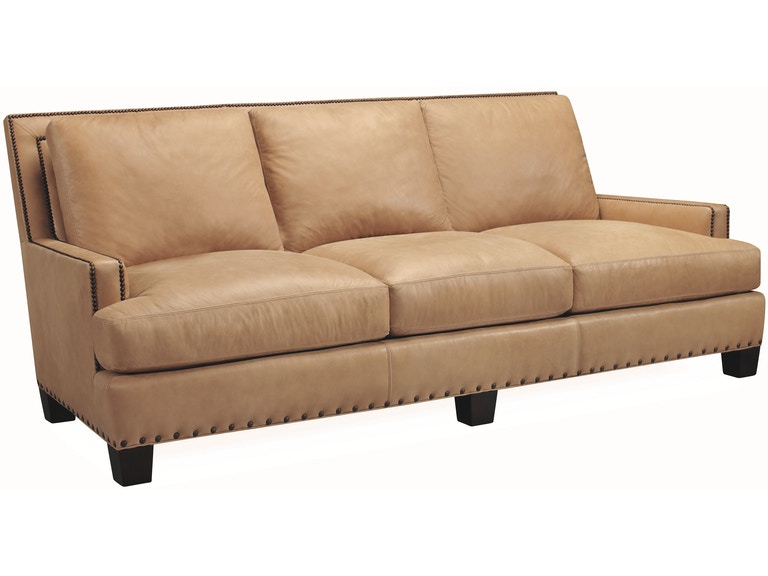 Lee Industries Living Room Leather Sofa L3722-03 - Toms ...
