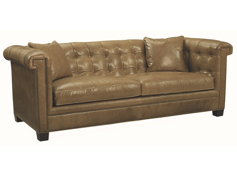 Lee Industries Leather Sofa L3892 03