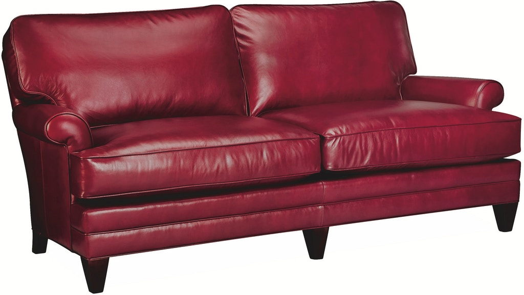 Lee Industries Living Room Leather Apartment Sofa L3894-11 ...