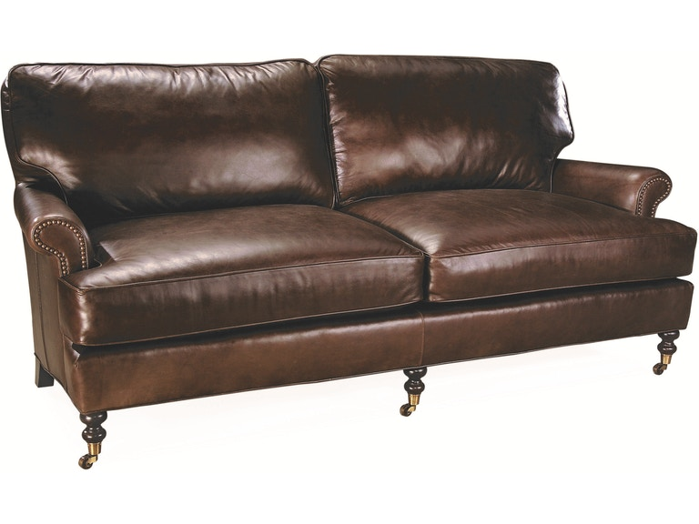 Lee Industries Living Room Leather Apartment Sofa L3895-11 - Meg ...