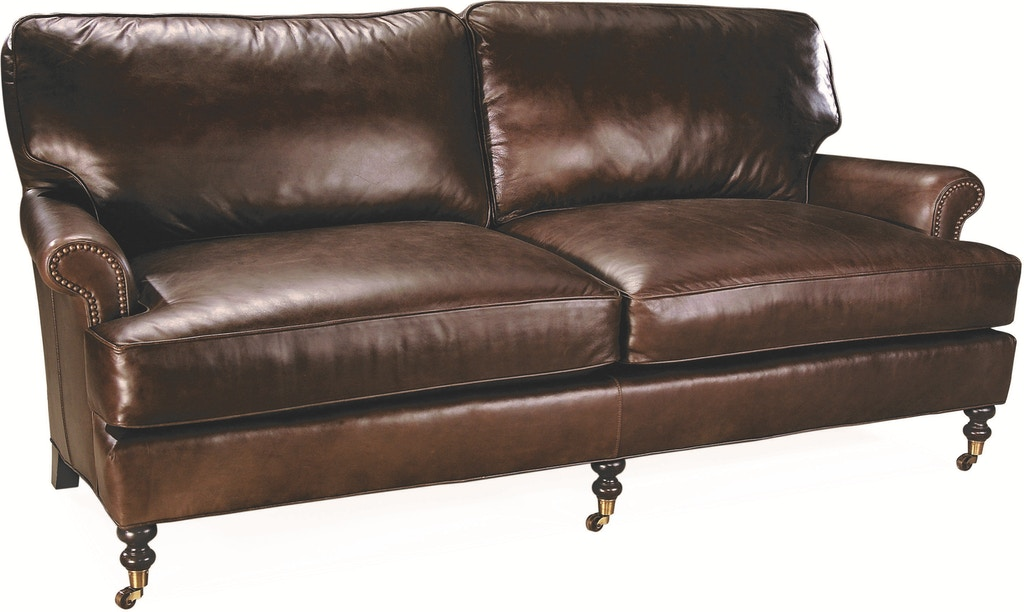 Lee Industries Living Room Leather Apartment Sofa L3895-11 ...