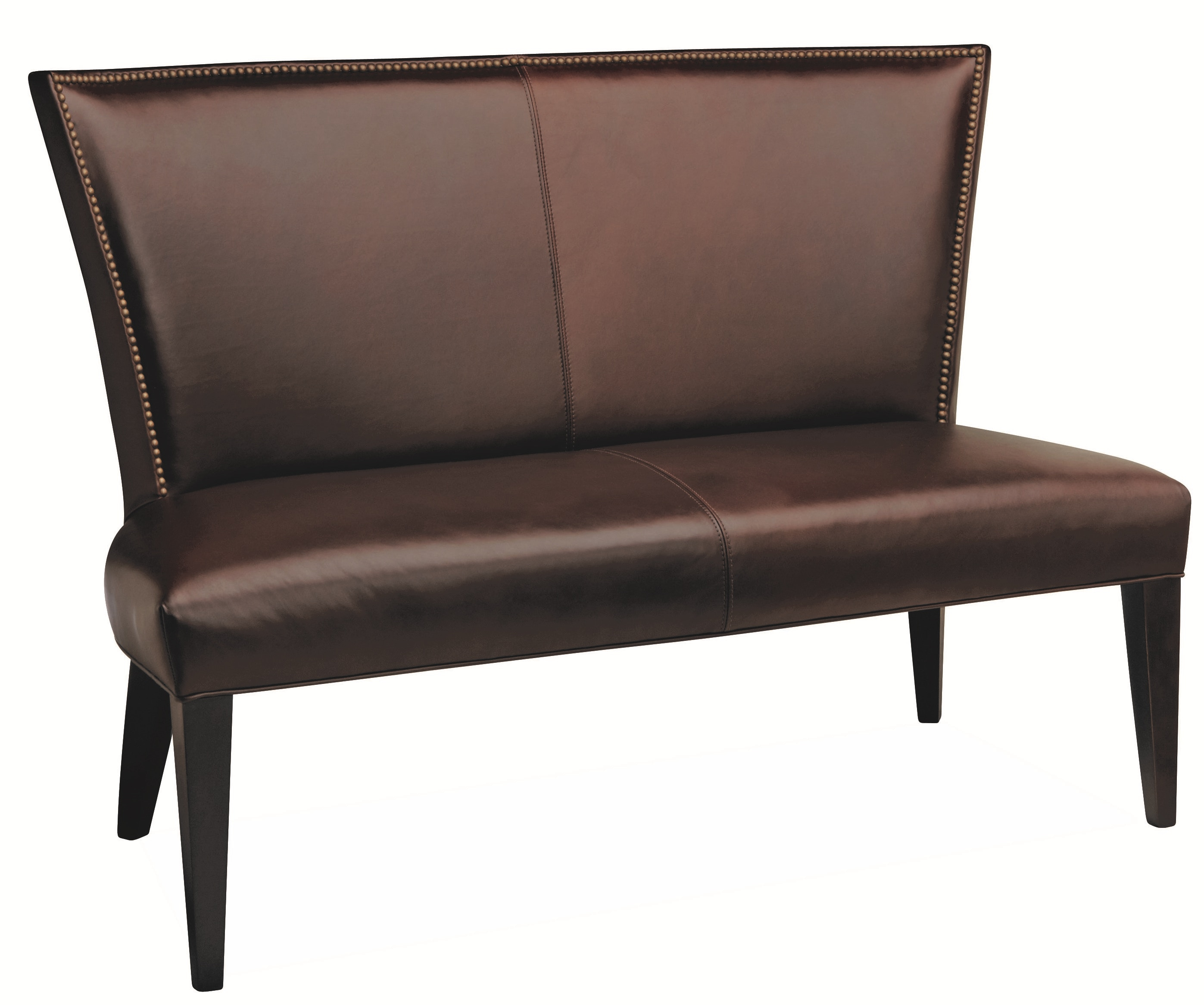 Lee Industries Leather Dining Bench L5673 56