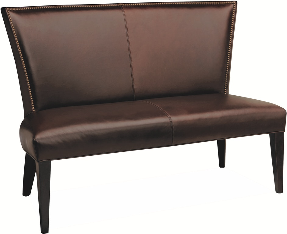 Terrific Lee Industries Dining Room Leather Dining Bench L5673 56 Machost Co Dining Chair Design Ideas Machostcouk