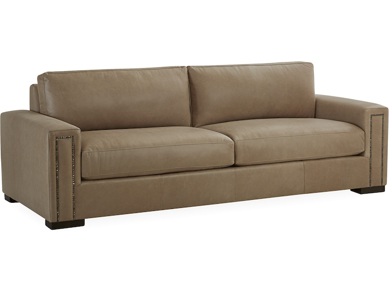 Lee Industries Living Room Leather Sofa L7057-03 - Alyson ...