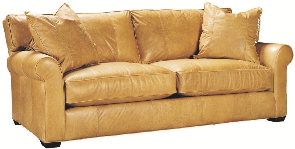 Lee Industries Living Room Leather Sofa L7117-03 - R W ...