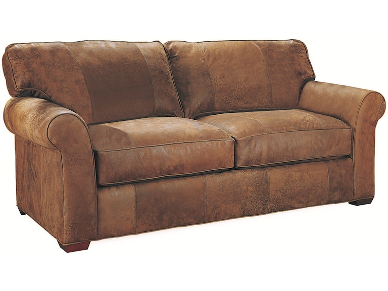 Lee Industries Leather Apartment Sofa L7117 11