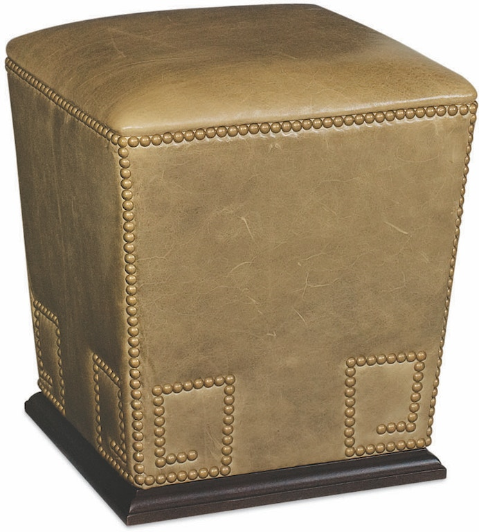 Lee Industries Living Room Leather Bongo Ottoman L9045 00