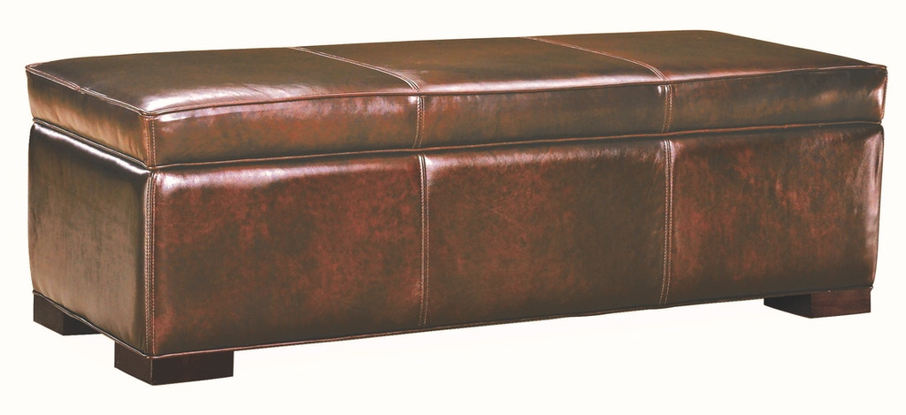 Astounding Lee Industries Living Room Leather Storage Bench L9391 40 Ncnpc Chair Design For Home Ncnpcorg
