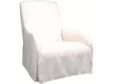 Lee Industries Sunset Lounger Outdoor Slipcovered Chair Us103 01
