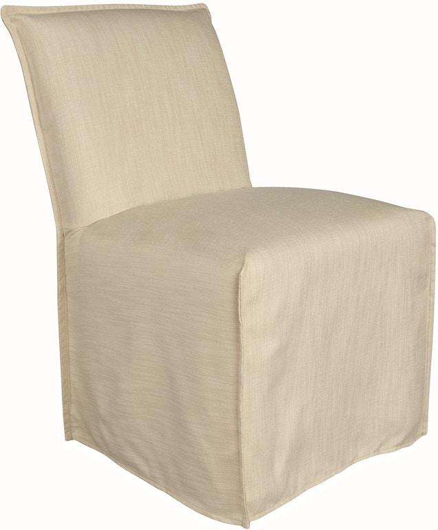 Lee Industries Jasmine Outdoor Slipcovered Chair US105-01C - Lee Industries Outdoor/Patio Jasmine Outdoor Slipcovered Chair US105