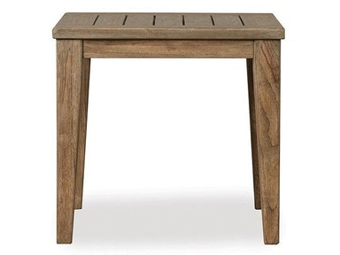Lloyd Flanders The Wildwood Square Tapered Leg End Table 135043