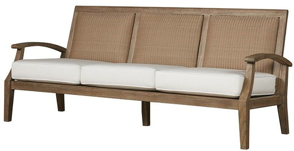 Lloyd Flanders Outdoor Patio Sofa 135055 Zing Casual