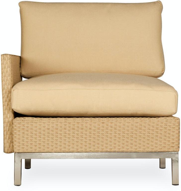 Tremendous Lloyd Flanders Outdoor Patio Right Arm Lounge Chair 203028 Machost Co Dining Chair Design Ideas Machostcouk