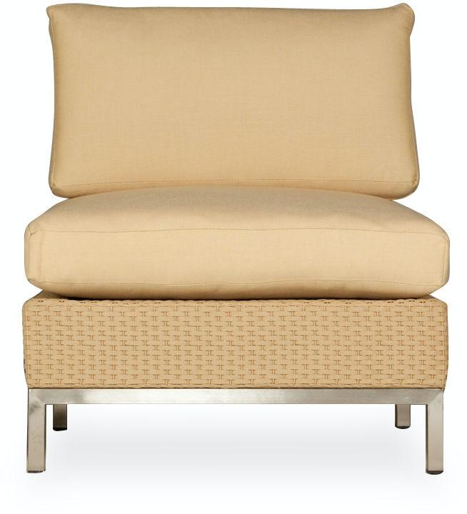 Lloyd Flanders Outdoor Patio Armless Lounge Chair 203053