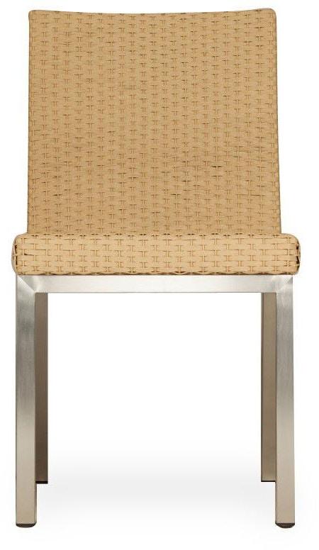 Lloyd Flanders Outdoor Patio Armless Dining Chair 203307