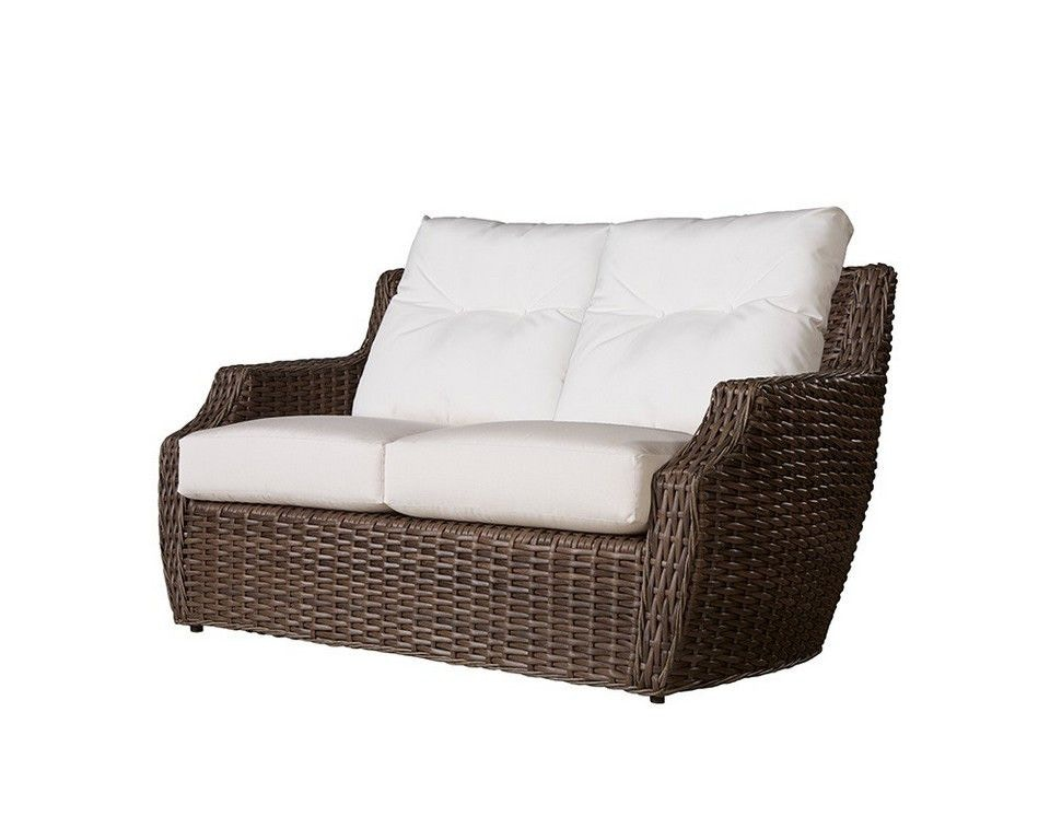 Lloyd Flanders Outdoor Patio The Largo Loveseat Zing Casual Living