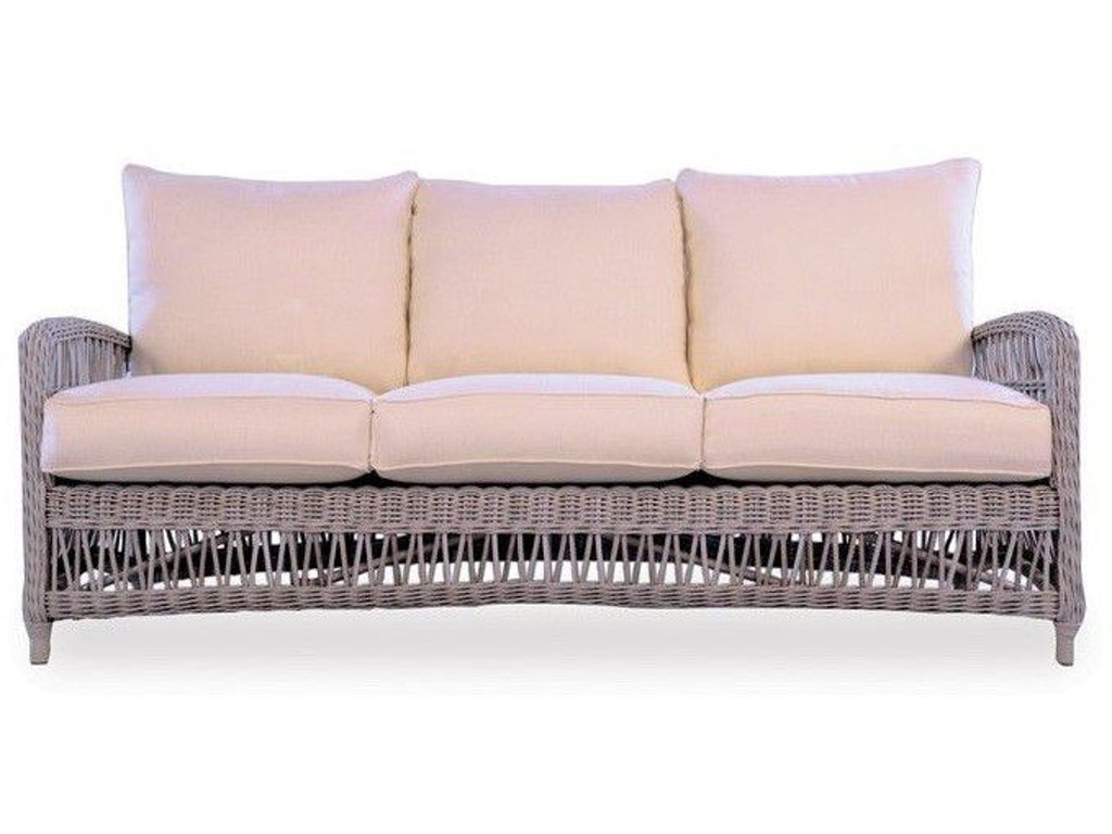 Lloyd Flanders Outdoor Patio The Mackinac Sofa 273055 Bacons Furniture Port Charlotte Fl