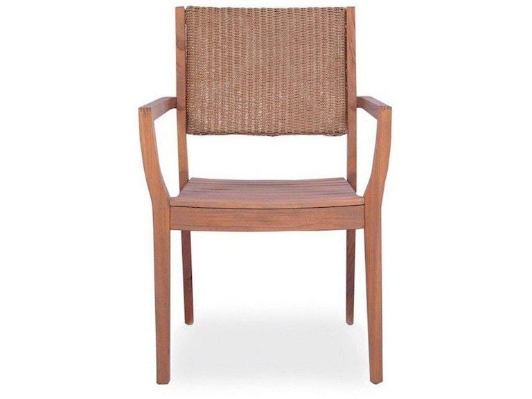 Lloyd Flanders Loom Back Dining Arm Chair 286201