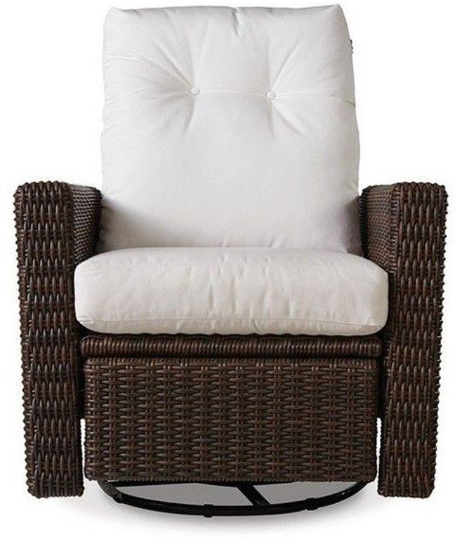 Lloyd Flanders Outdoor Patio Swivel Glider Recliner 298092