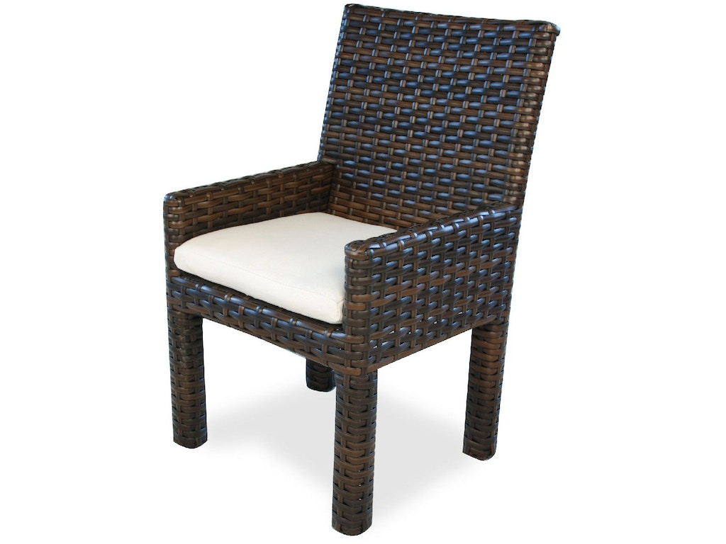 Lloyd Flanders Outdoor Patio Dining Arm Chair 38001 Bacons Furniture Port Charlotte Fl