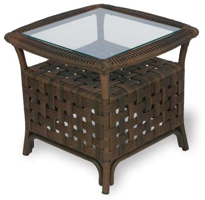 Lloyd Flanders Outdoor Patio End Table 43043 Zing Casual