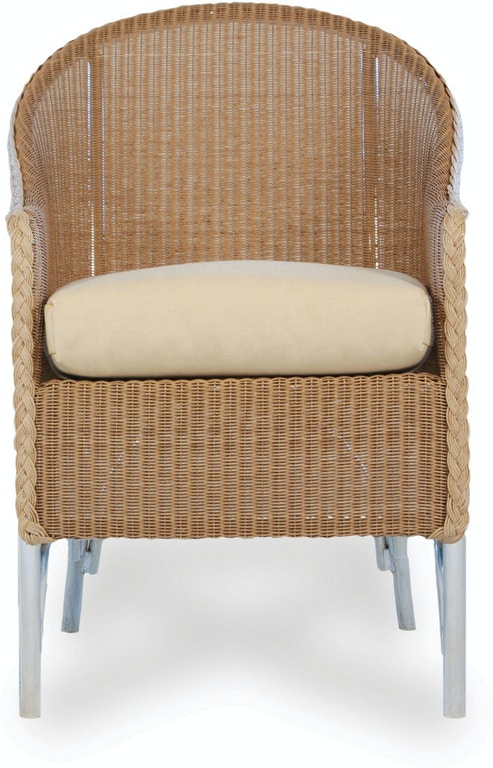 Lloyd Flanders Outdoor Patio High Back Dining Chair 8004