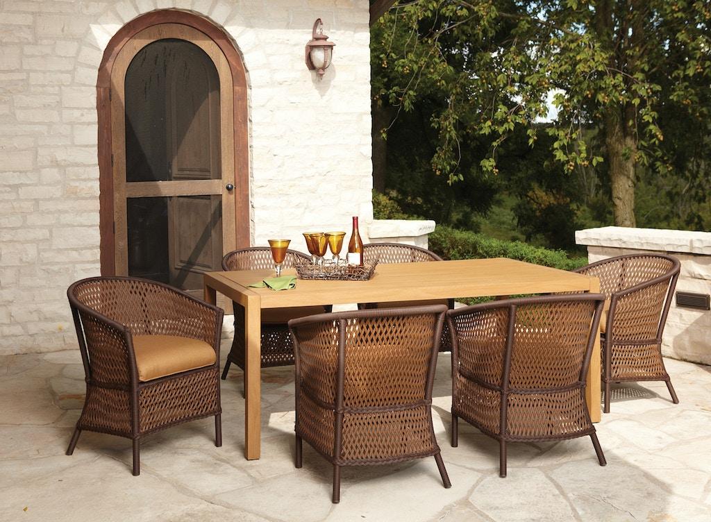 Lloyd Flanders Outdoor Patio Dining Arm Chair 71301