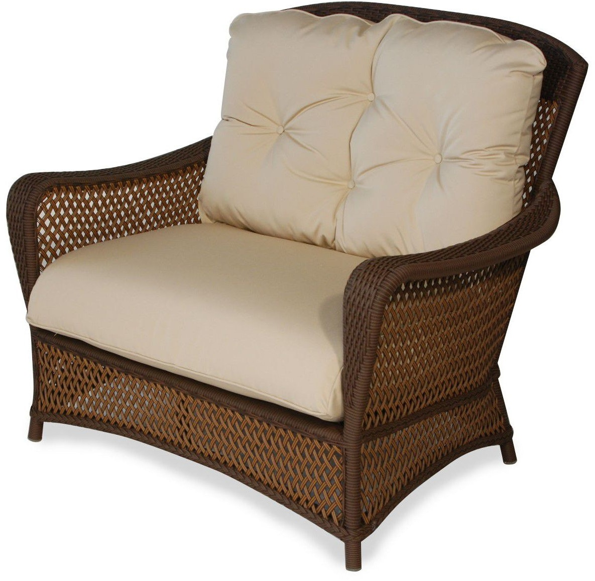 Lloyd Flanders Outdoor Patio Chair And A Half 71315 Zing