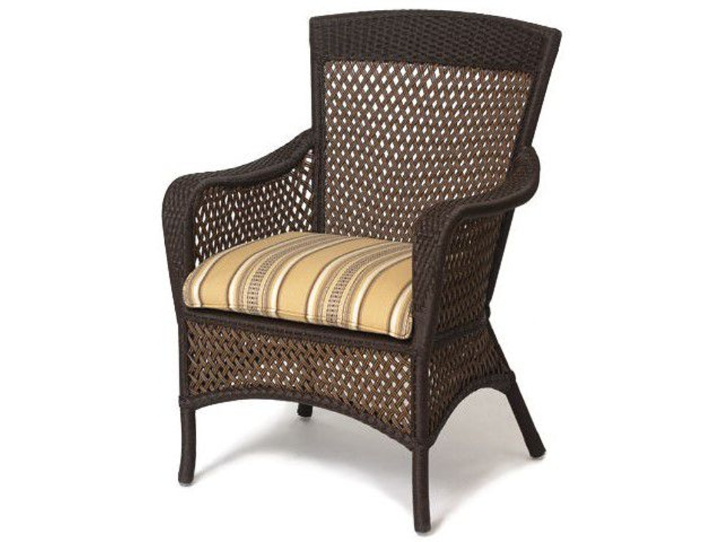 Lloyd Flanders Outdoor Patio Dining Arm Chair 71301 Stowers Furniture San Antonio Tx