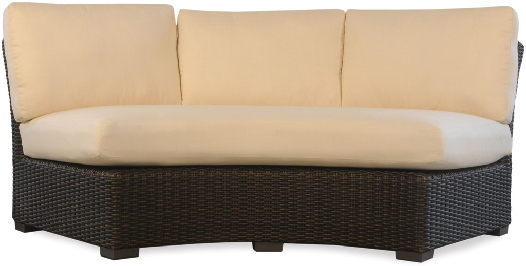 Lloyd Flanders Outdoor/Patio Mesa Curved Sofa Sectional ...