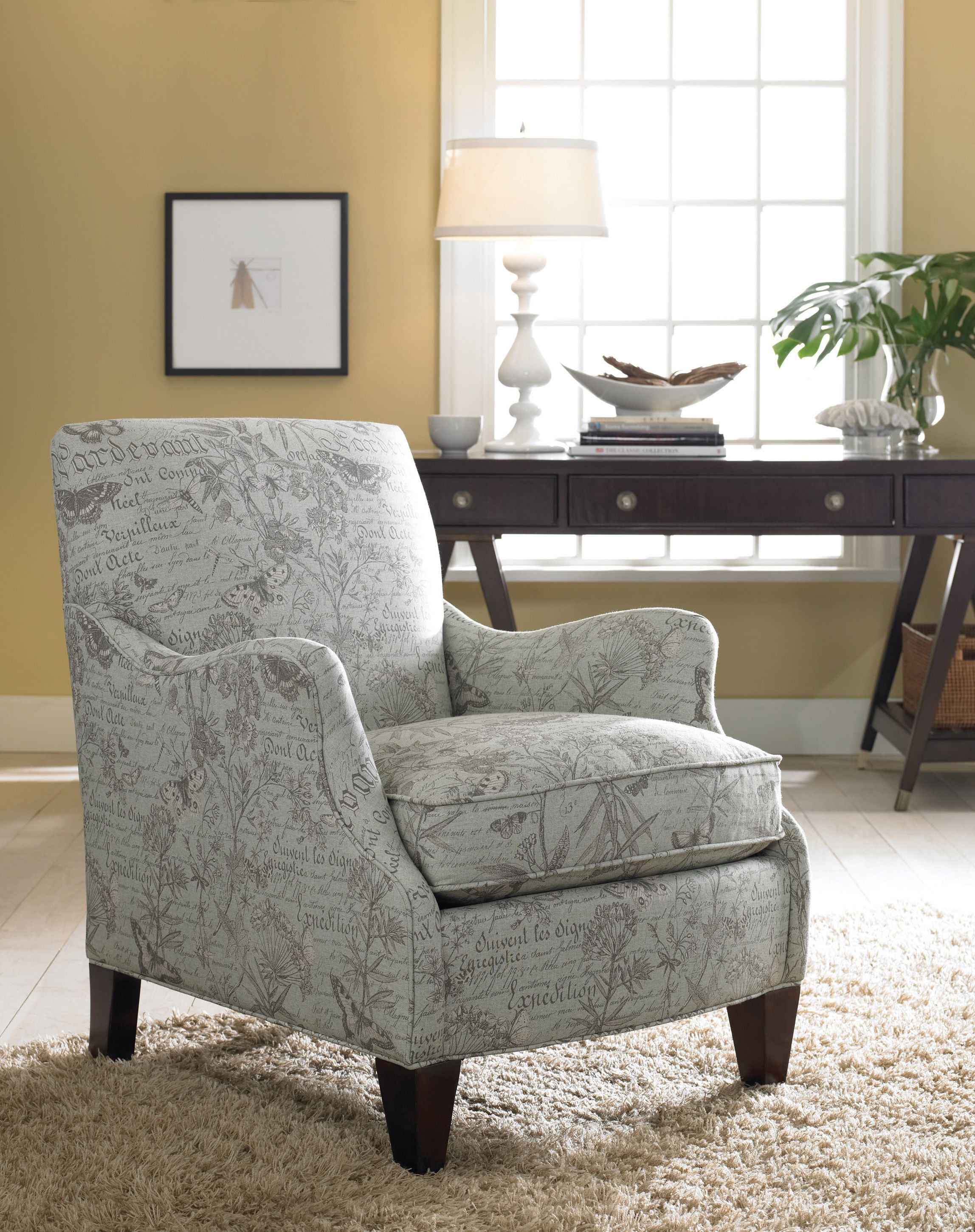 Sam Moore Living Room Aunt Jane Club Chair 1190 Brownlee