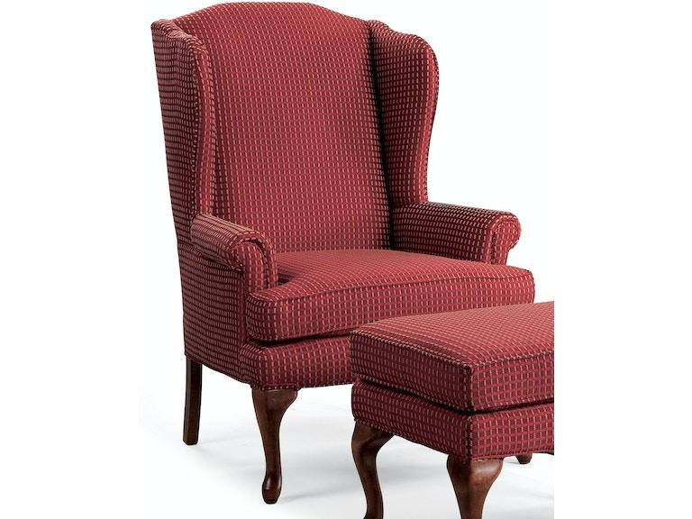 Sam Moore Living Room Annie Wing Chair 2036 Woodchucks Fine Furniture Decor Jacksonville Fl