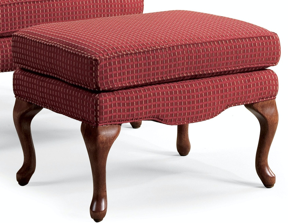 Sam moore living room annie ottoman 2038 whitley Living room furniture raleigh nc