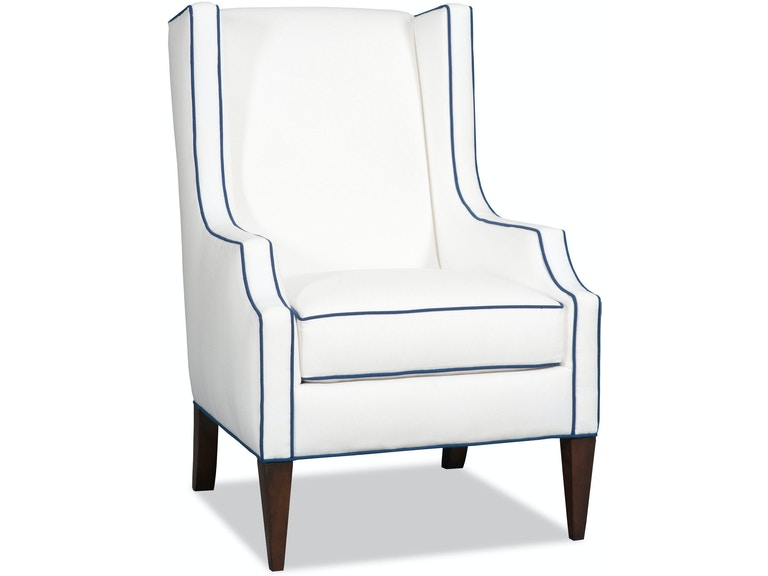 Sam Moore Living Room Pressley Wing Chair 2045 Cherry House