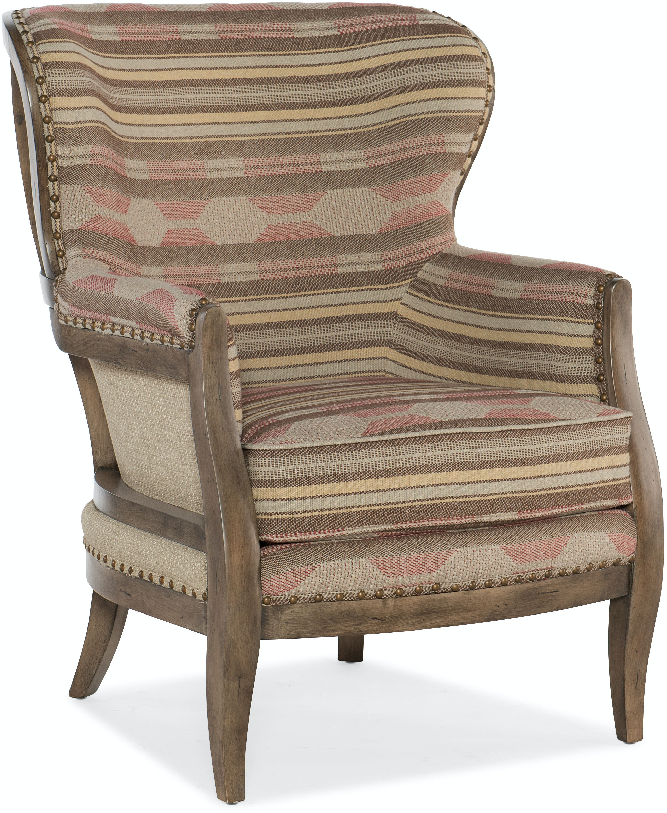 Sam Moore Living Room Calhoun Exposed Wood Chair 4095
