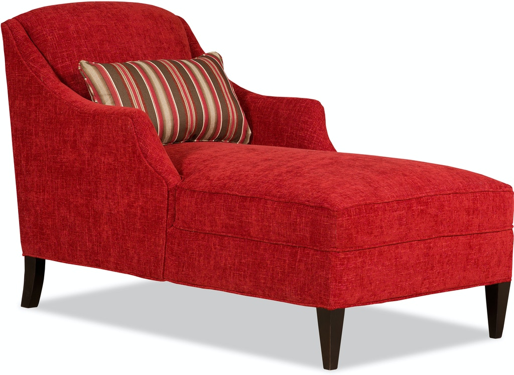 Sam Moore Living Room Lark Chaise 6754 Sam Moore
