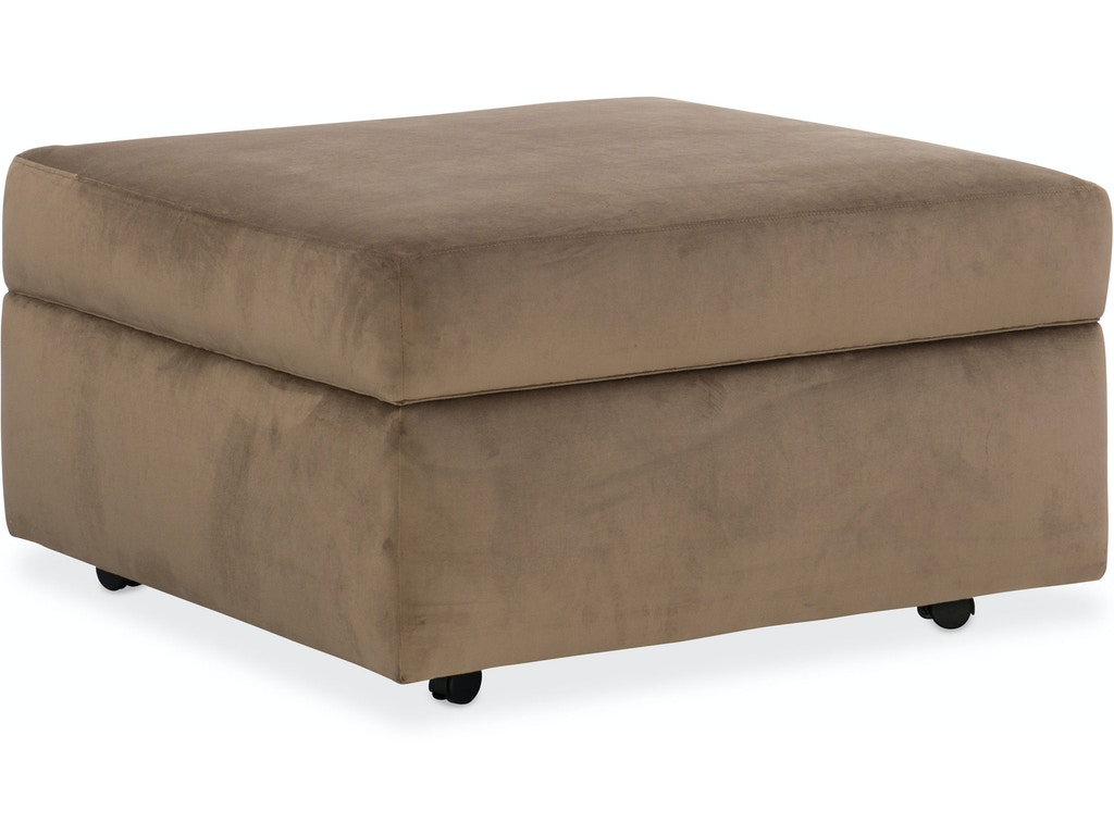 Sam Moore Living Room Sage Storage Ottoman Sm10 033