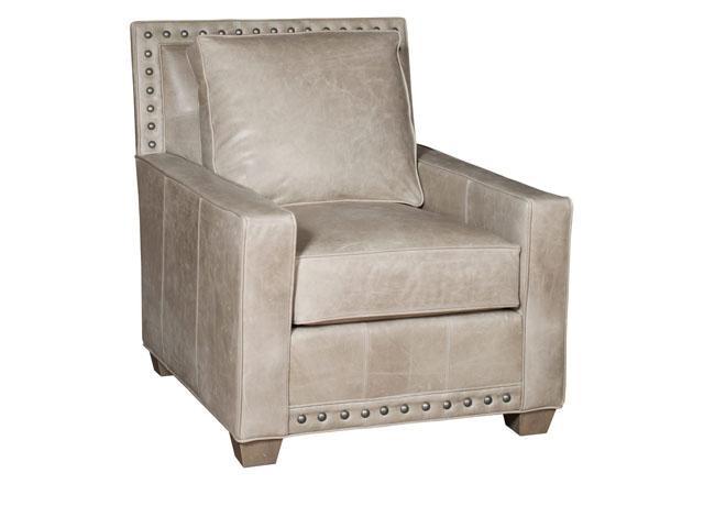 King Hickory Savannah Leather Chair