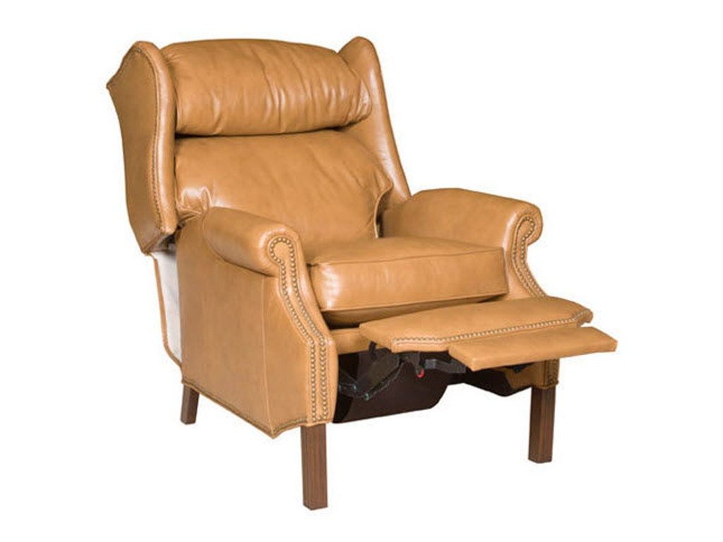 King Hickory Living Room Washington Leather Recliner 107 LR