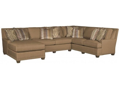 King Hickory Living Room Savannah Sectional 1000 62 74 83