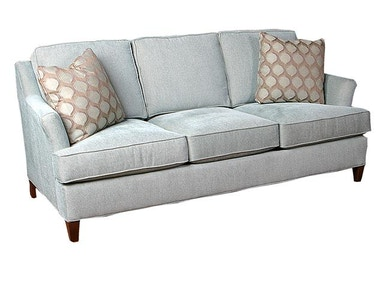 King Hickory Melrose Fabric Sofa 1450