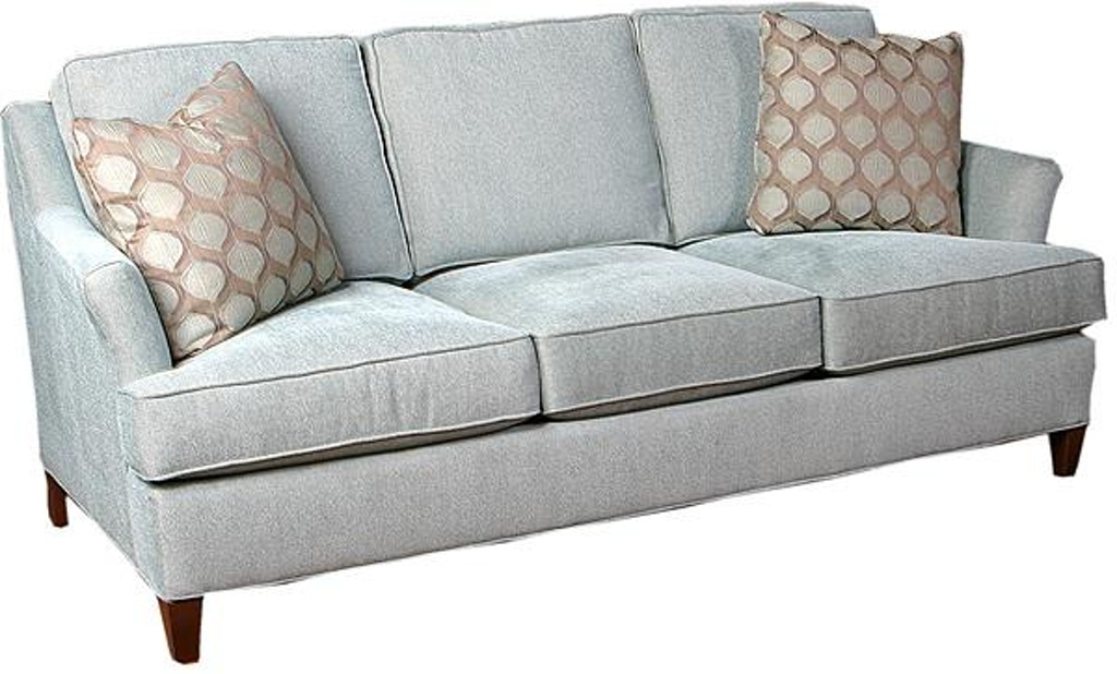 King Hickory Living Room Melrose Fabric Sofa 1450 At Lauters Fine Furniture