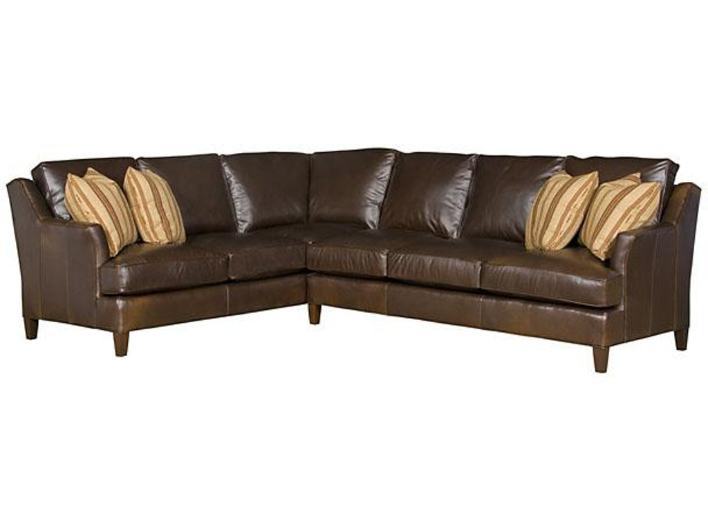 Hickory Manor Living Room Melrose Left Arm Facing Corner Sofa 1462 L Grace Furniture Marcy Ny
